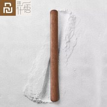 Youpin Natural Log Rolling Pin Fine Sanding Without Added Chemical Coating Non Stick Cooking Tools 32*400mm