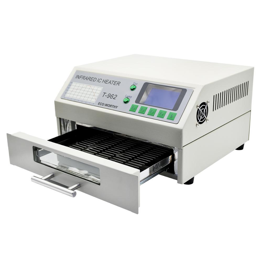 DC HUIS 220V T-962 Reflow Oven Infrarood IC Heater Soldeerstation - Lasapparatuur - Foto 4
