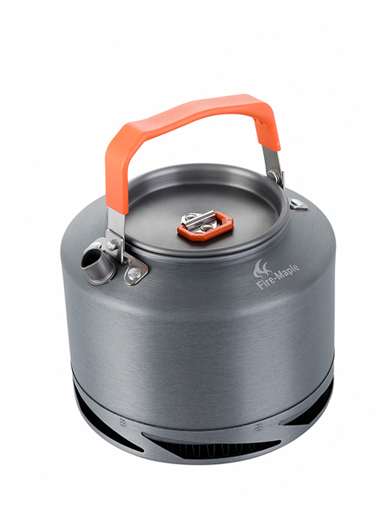 Outdoor Camping Cookware Pinic-Kettle Coffee-Pot Heat-Exchange Fire-Maple Tea with FILTER-FMC-XT2