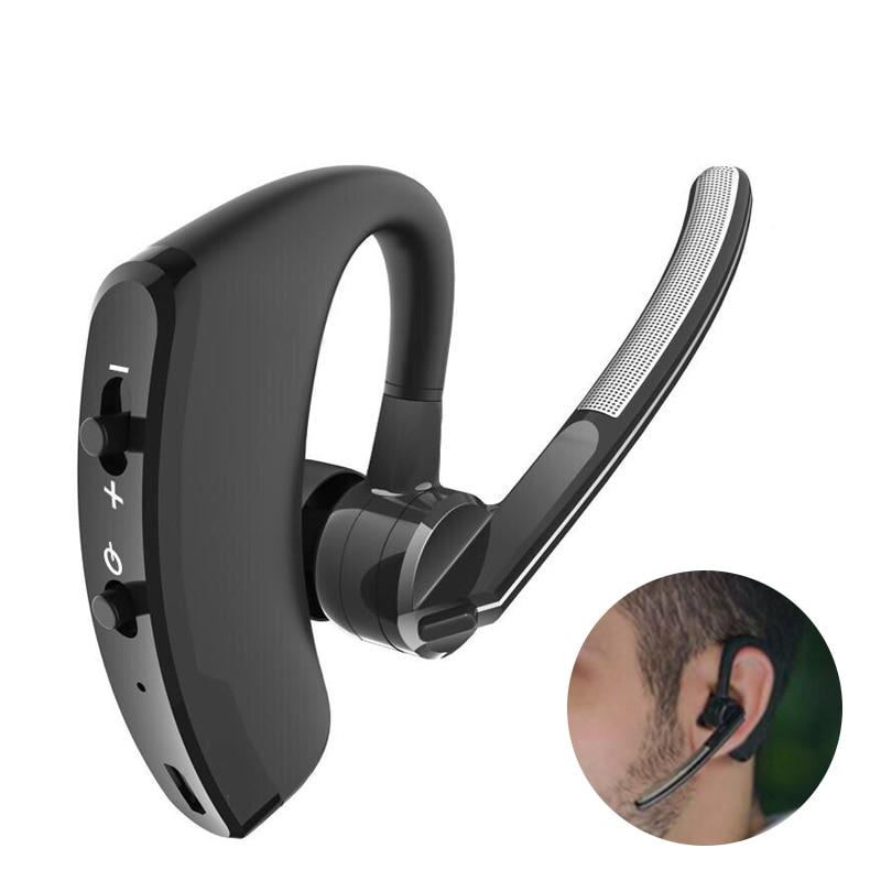 New V8 Wireless Bluetooth Earphone With Mic Handsfree Earphones Bluetooth Stereo Headphones For Samsung IPhone Xiaomi Phone