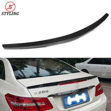 W207 Coupe Carbon Fiber Spoiler AMG Style For Mercedes-benz C207 E200 E350 E500 E260 E360 rear spoiler wing 2010-2014 2015 2016 2g ram 16g rom android gps navigator for mercedes benz e class c207 coupe a207 w207 2010 2015 e200 250