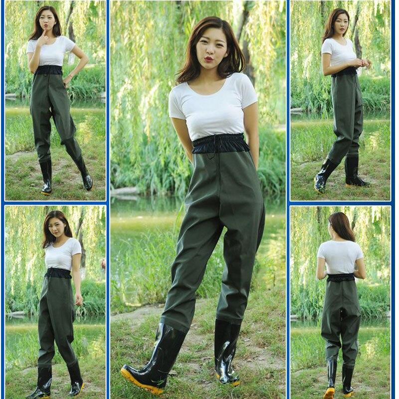 "Waist Water Pants Thick Half length Ultra Light Waterproof Clothing ""Rain proof Pants Fishing Water Fork Pants One piece Rain Sh|Floodlights| |  - title="