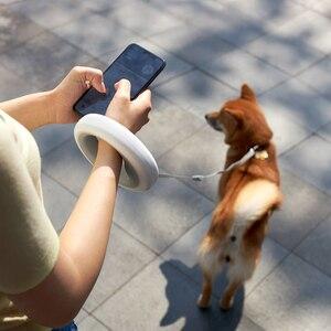 Image 5 - Оригинальный MOESTAR Выдвижной Поводок для собак, поводок для собак, автоматический поводок для собак гибкое кольцо Форма 2,6 м с Перезаряжаемые светодиодный ночной Светильник