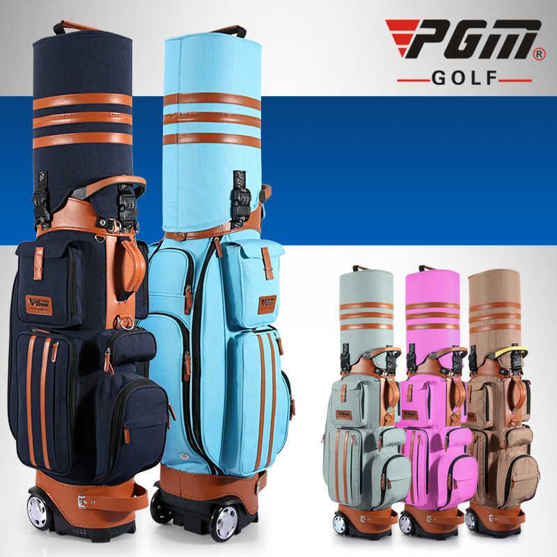 جديلة حامل PGM براءات رجل إمرأة جولف متعدد وظيفة حقيبة قشرة صلبة شحنة للماء درجة حرارة الهواء حقيبة/قفل مجمع