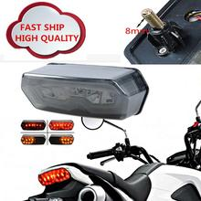 цены на Moto Lamp 57W Integrated LED Tail Turn Signal Lights Motorcycle Rear DRL Brake Light Smoke Lens For Honda Grom 125 MSX 2014-2016  в интернет-магазинах