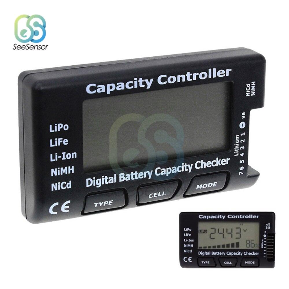 Цифровой прибор для проверки емкости аккумуляторной батареи RC Meter 7, устройство для проверки литий-полимерной, литий-ионной, никель-металлог...