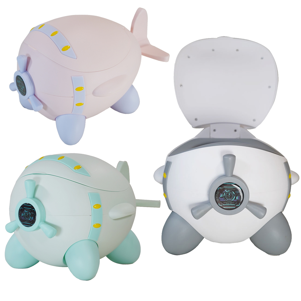 China Supplier Cute Baby Potty Soft Baby Toilet Training For Free Potty Brush