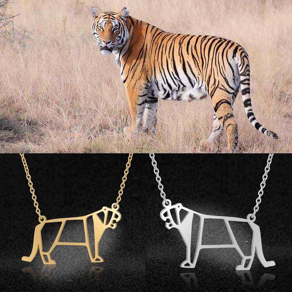 Unikalne biżuteria dla zwierząt naszyjniki dla kobiet 100% ze stali nierdzewnej Hippo słoń baleriny balet wisiorek naszyjnik specjalny prezent
