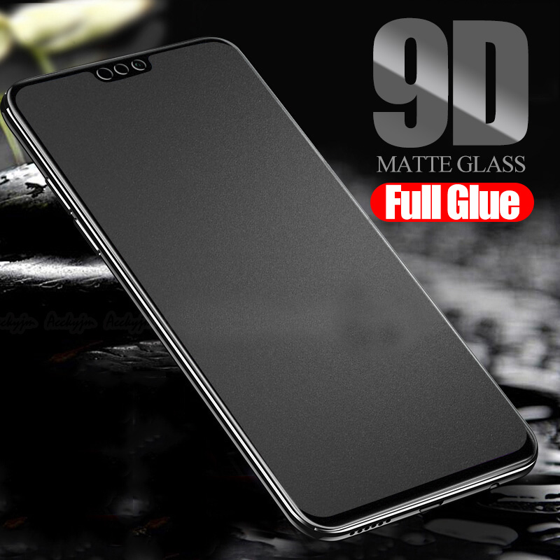 9D Full Glue Matte Glass On Honor 10 Lite Light 20 Pro Protective Glass For Huawei Honor 8x 8s 8c 8a Honer 8 X A C S Safety Film