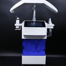 Новинка! Гидралицевая водная дермабразия машина для глубокого очищения кожи водный светодиодный светильник терапия лечение акне уход за кожей подтяжка лица