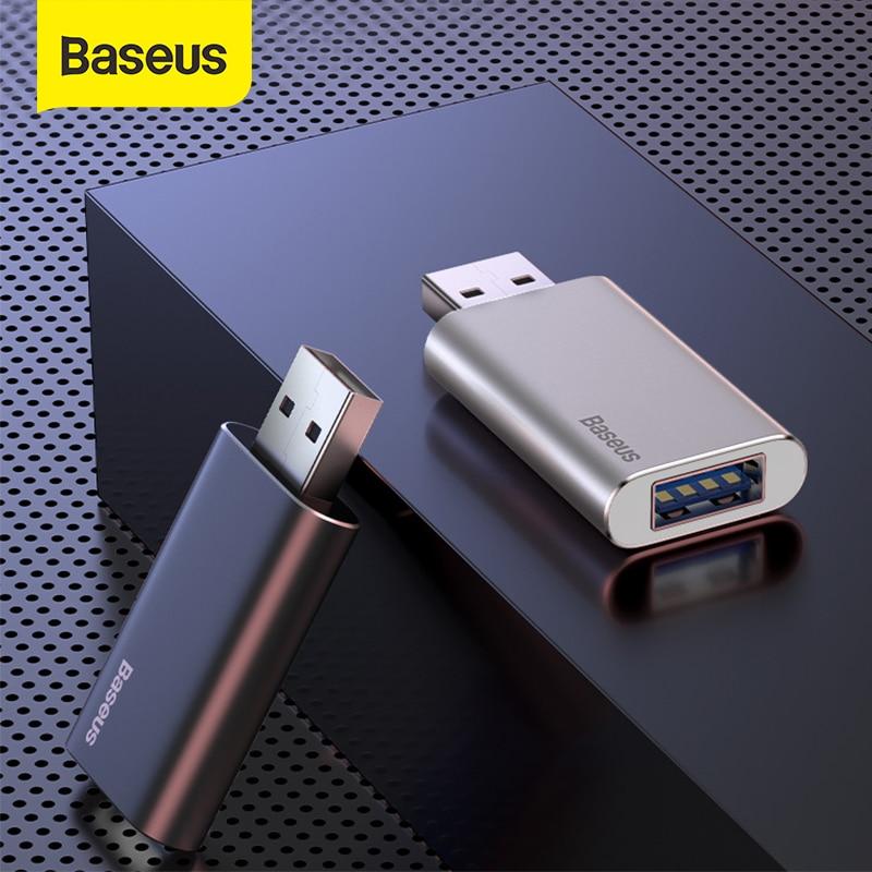 Baseus Car Music U Disk USB Falsh Drive Support Charging For Computer Smart TV Alloy Auto U Memory Stick 16G 32G 64G U Disk