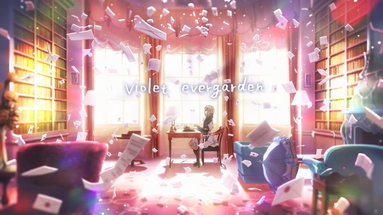 【动漫资源】【中文字幕】紫罗兰永恒花园【1080P】蓝光预告CM+PV合集