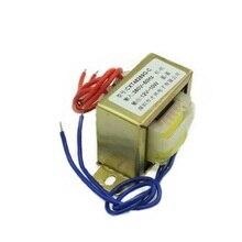 EI48-24 Мощность трансформатор 10 Вт DB-10VA 380V в 12V переменного тока 12V 0.83A 830mA