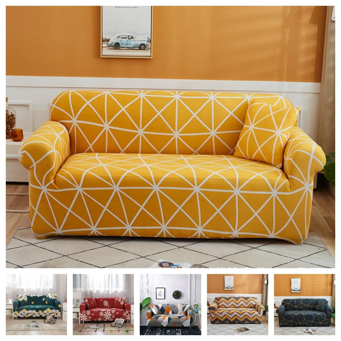 2021 мульти-красная Роза узор эластичные чехлов диван универсальный чехлы для диванов стрейч чехол для секционного дивана для диванов для Го...