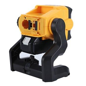 For DeWalt Makita Ryobi 18V 20V Led Portable Spotlight Super Bright Led Work Light Rechargeable Lampe Led light by Tool battery