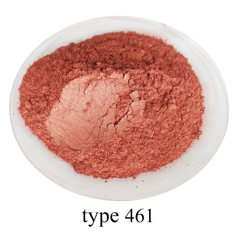 Brick Red Pearl Powder Pigment Mineral Mica Powder DIY Dye Colorant For Soap Automotive Art Crafts 50g Red Series Mica Powder