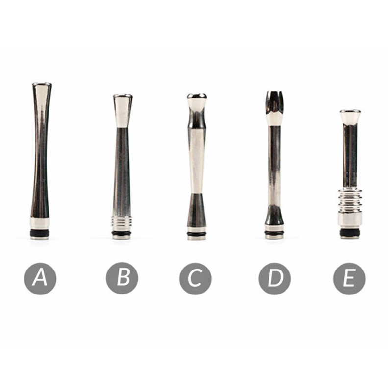 <font><b>510</b></font> Long Drip Tip Electronic Cigarette Stainless Steel <font><b>510</b></font> Drip Tip <font><b>Mouthpiece</b></font> For eGo Melo 3 Ijust S Atomizer image