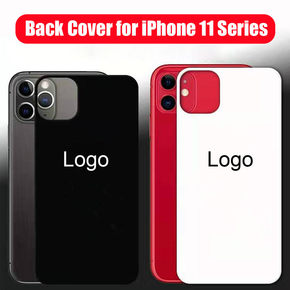 Screen Protectors 9H Tempered Glass Film Back Cover Full Cover Shock-Proof Case Film With Logo For IPhone 11 Pro Max 11 Pro 11