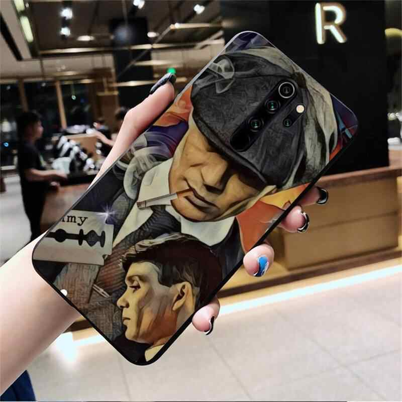 Peaky Blinders Thomas Shelby Cover Hitam Soft Shell untuk Redmi Note 8 8A 8T 7 6 6A 5 5A 4 4X 4A Go Pro