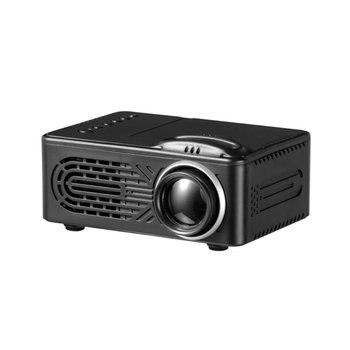 814 mini mini projetor de entretenimento em casa portátil suporta 1080p 4k hd conexão do telefone móvel projetor
