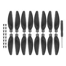 8pcs Carbon Fiber Platinum Propellers For DJI Mavic Mini Quick Release Enhanced Blade Folding Propeller Prop