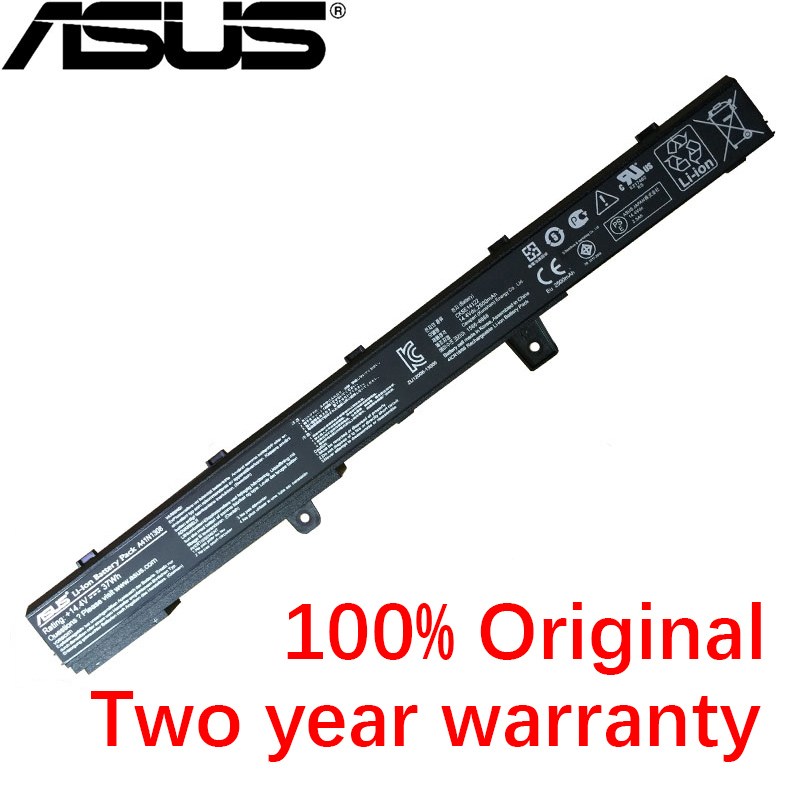 ASUS Original 14.4V 37WH For ASUS X551C X551CA X551M A41N1308 A31N1319 0B110-00250100M X45LI9C YU12008-<font><b>13007D</b></font> Laptop Battery image
