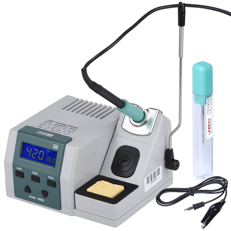 JCD T26 Industrial Grade Soldering Station Lead-free Soldering Iron Kit Temperature Control JBC Universal Electric Heater System