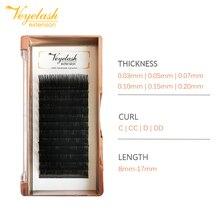 Veyelash False Mink Extensions Individual Eyelashes Extension Faux natural volume eyelash fake eyelashes