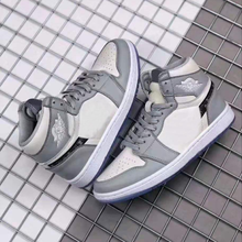 2020 new brand authentic OG grey and white 1:1 men's high top
