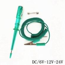 Universial DC 6 V/12 V/24 V Auto Lampe Spannung Circuit-Tester System Detektor Sonde Test Lichter auto Befestigungs Änderung Accessary