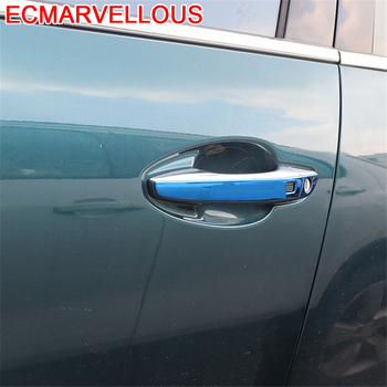 Auto Door Handle Outlet Air Conditioner Automobile Decorative Modified Car Styling Accessories Sticker Strip 19 FOR Peugeot 4008