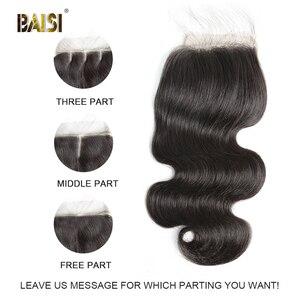 Image 2 - BAISI Lockige Bob Perücke 13x6 Spitze Vorne Perücke Brasilianische Menschliches Haar mit Natürlichen Haaransatz Baby Haar Hohe Dichte perücken für Schwarze Frauen