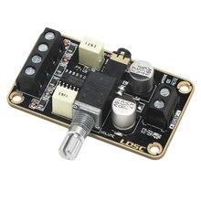 Pełna płyta wzmacniacza Audio, karta do cyfrowego wzmacniacza mocy Pam8406 5W + 5W zanurzeniowa złota amplituner Stereo 2.0 podwójny kanał Mini klasa D