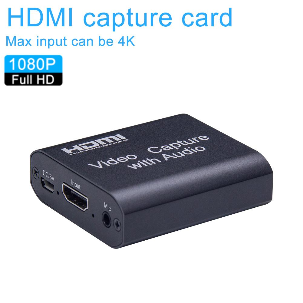 HD Live Streaming Capture Card HDMI Video Recording Capture Card Portable Game Capture Card For Online Streaming image