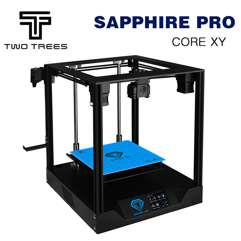 TWO TREES 3D Printer Sapphire pro CoreXY BMG Extruder Core xy High precision  3d DIY Kits 3.5 inch touch screen MKS  facesheild3D Printers   -