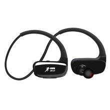 IPX8 Waterproof Earphone Wireless Bluetooth Earphone 16GB MP3 Player In-ear Stereo Music Earbuds Spo