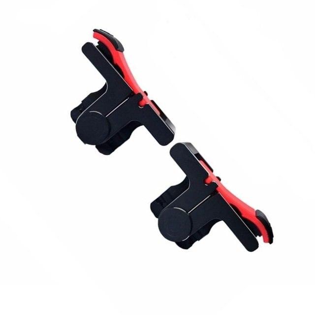 D9Mobile أذرع التحكم في ألعاب الفيديو غمبد البلاستيك L1R1 لوحات المفاتيح الهاتف عصا التحكم الحساسة تبادل لاطلاق النار والهدف المشغلات تحكم المحمول ل pubg 5