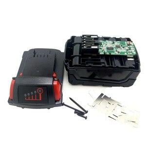 Image 2 - M18B ליתיום סוללה פלסטיק מקרה טעינת הגנת מעגלים עבור מילווקי 18V M18 48 11 1815 3Ah 4Ah 5Ah PCB לוח פגז