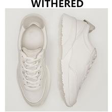 Zwiędły przypadkowi buty wulkanizowane kobiety styl angielski dopasowane kolory skóra bydlęca oryginalne skórzane buty trampki damskie buty kobieta tanie tanio daveanddi Prawdziwej skóry CN (pochodzenie) Patchwork Dla dorosłych Kożuch Zima Niska (1 cm-3 cm) Lace-up Pasuje prawda na wymiar weź swój normalny rozmiar