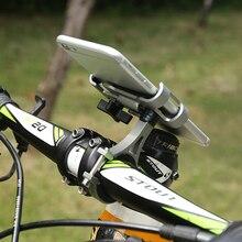 1 шт., вращающийся на 360 градусов держатель для телефона на велосипед, велосипедный кронштейн, подставка для MTB велосипеда, телефона, gps навигация, поддержка, Аксессуары для велосипеда