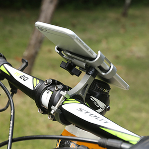 1Pcs 360 Degree Rotatable Bicycle Mobile Phone Holder Mountain Bike Handlebar Phone Stand Phone GPS Navigation Support Bracket(China)