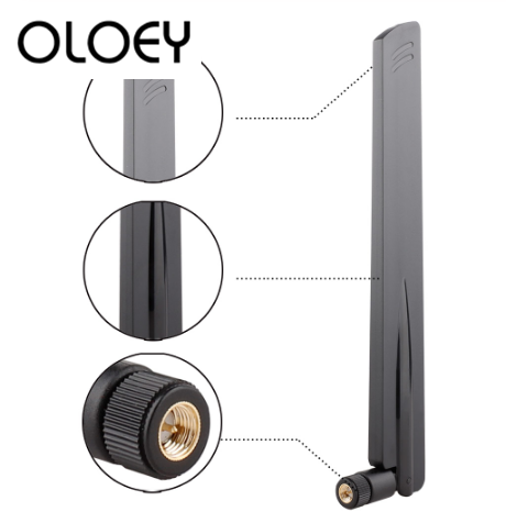 4G Antenna LTE Antenna, Foldable, SMA Male, Strong Signal, Used For Router, Car And Other Products