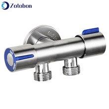 Garden Faucet Toilet-Bibcock Washing Single-Cold-Water-Tap 304-Stainless-Steel ZOTOBON