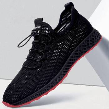 Men Running Shoes 2019 Summer Air Mesh Breathable Adult Male Shoes Trends Comfortable Ultra Light Outdoor Sports Shoes original xiaomi mijia freetie ultra light running shoes men s city sneaker air mesh breathable eva sole stylish casual shoes