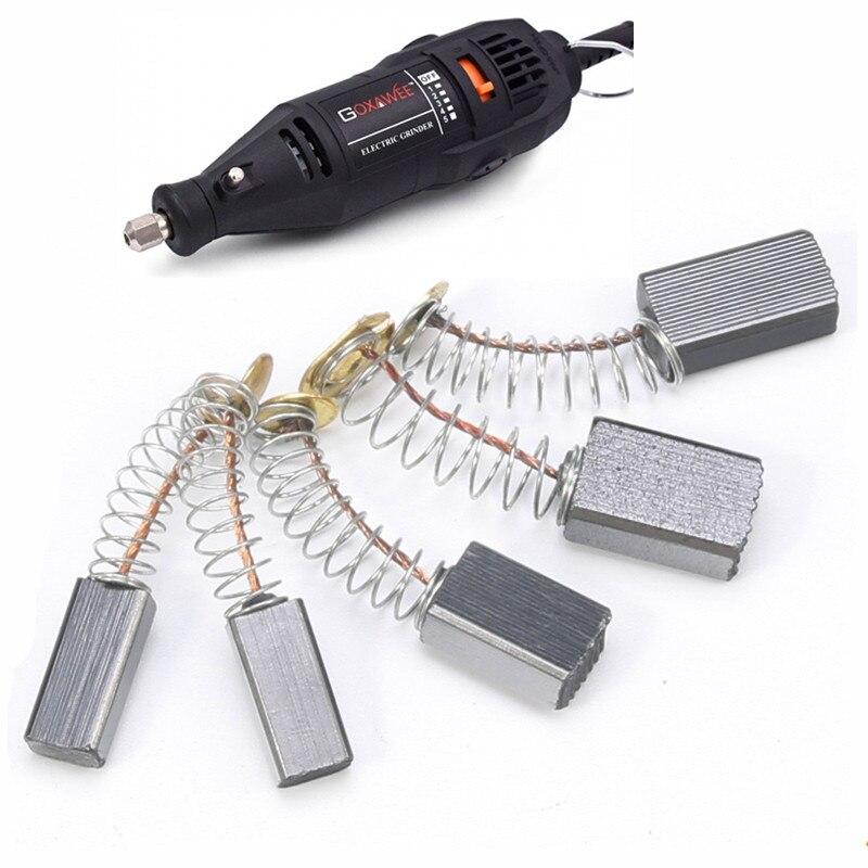 20Pcs Carbon Brushes Brush Power Tool Repairing Part fit Electric Motor Drill
