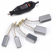 цена на 20pc/lot High performance graphite carbon brush Power Tool Replacement Spare Part for electric motors angle grinders fittings