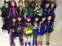 11'' Original Descendants Doll Action Figure Doll Maleficent Toy Gift dolls for girls boys evie mal Descendants 2