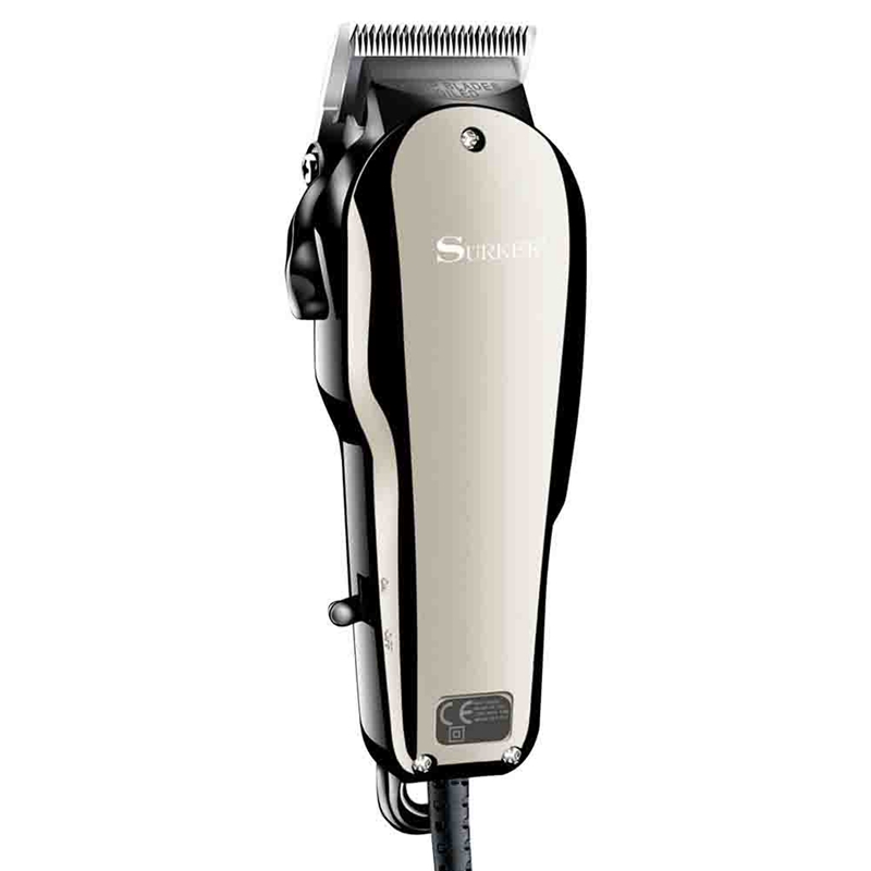 Surker Sk-710 Electric Hair Clipper Retro Oil Head Shear Dc Connection Adjustable Hair Clipper Hair Salon Styling Tools Eu Plug