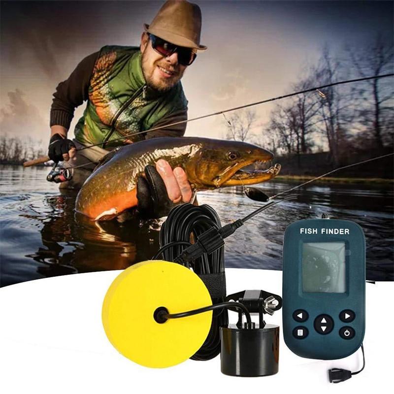 sonar sonoro de profundidade de pesca gama