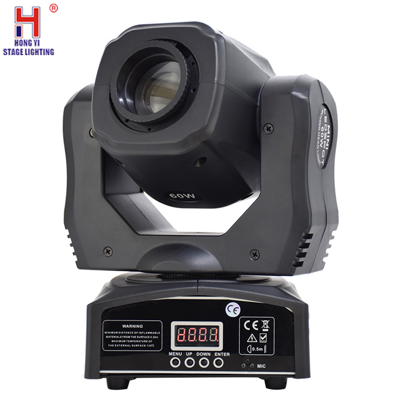 60W Led Spot Moving Head Light Led DJ Gobo 60W Moving Heads Lights DMX 512 Super Bright Luces Discoteca